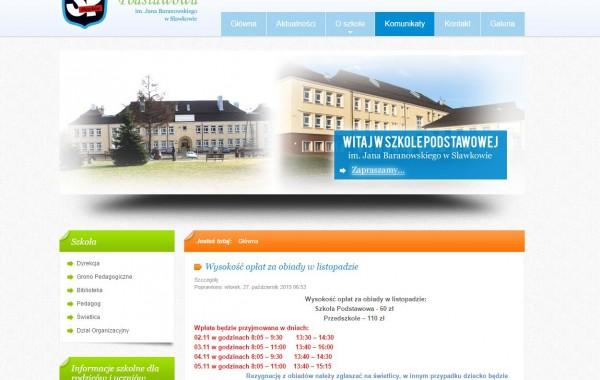 Szkoła Podstawowa w Sławkowie