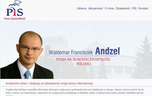 Poseł Waldemar Andzel